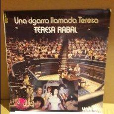 Discos de vinilo: TERESA RABAL / UNA CIGARRA LLAMADA TERESA / LP / BELTER- 1979 / BC. **/**. Lote 113419395