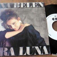 Discos de vinilo: SINGLE - CBS - ANA BELEN - MIRA LUNA (DISCO PROMOCIONAL). Lote 113421491