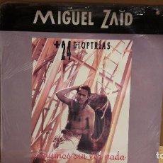 Discos de vinilo: MIGUEL ZAID + 24 DIOPTRÍAS. SEGUIMOS SIN VER NADA / LP 1992. P R E C I N T A D O . *****. Lote 113421875