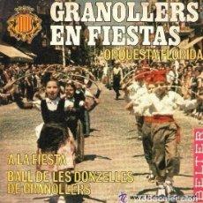 Discos de vinilo: ORQUESTA FLORIDA - GRANOLLERS EN FIESTAS - SINGLE BELTER 1968. Lote 113422967