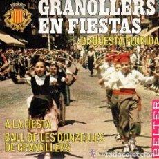 Discos de vinilo: ORQUESTA FLORIDA - GRANOLLERS EN FIESTAS - SINGLE BELTER 1968. Lote 113423039