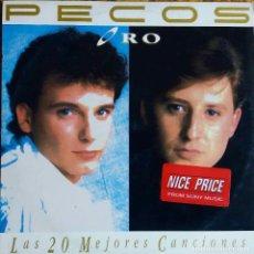 Discos de vinil: PECOS. ORO. LAS 20 MEJORES CANCIONES. DOBLE LP, 2 DISCOS. Lote 113424515