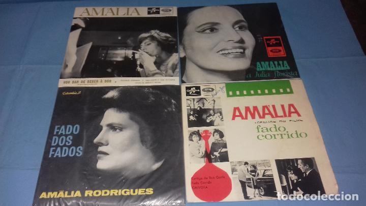 EP SINGLE DE AMALIA FAMOSA PORTUGUESA POR SU FADOS (Música - Discos - Singles Vinilo - Cantautores Internacionales)