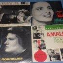 Discos de vinilo: EP SINGLE DE AMALIA FAMOSA PORTUGUESA POR SU FADOS. Lote 113426435