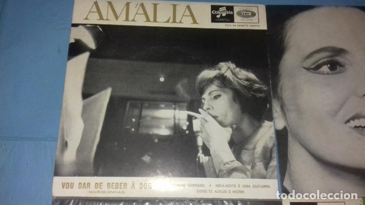 Discos de vinilo: EP SINGLE DE AMALIA FAMOSA PORTUGUESA POR SU FADOS - Foto 2 - 113426435