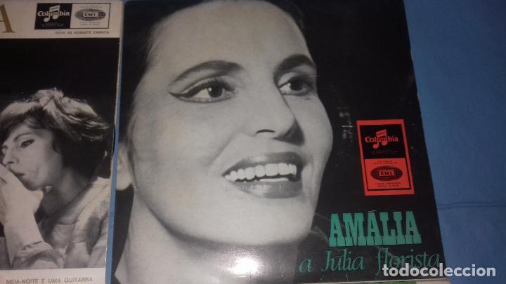 Discos de vinilo: EP SINGLE DE AMALIA FAMOSA PORTUGUESA POR SU FADOS - Foto 3 - 113426435