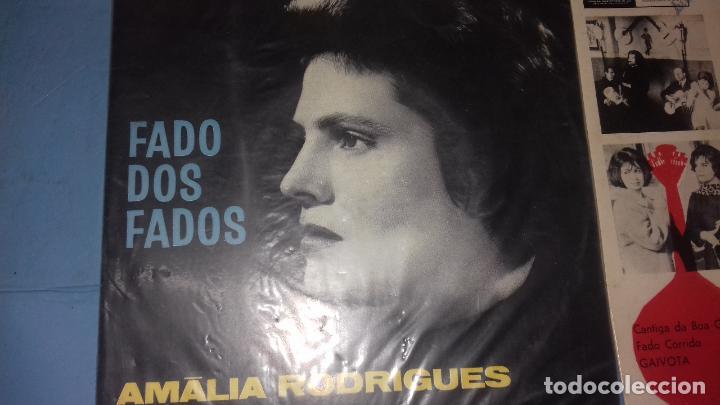Discos de vinilo: EP SINGLE DE AMALIA FAMOSA PORTUGUESA POR SU FADOS - Foto 4 - 113426435