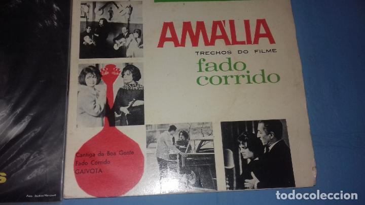 Discos de vinilo: EP SINGLE DE AMALIA FAMOSA PORTUGUESA POR SU FADOS - Foto 5 - 113426435