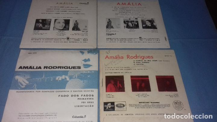 Discos de vinilo: EP SINGLE DE AMALIA FAMOSA PORTUGUESA POR SU FADOS - Foto 6 - 113426435