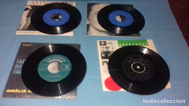 Discos de vinilo: EP SINGLE DE AMALIA FAMOSA PORTUGUESA POR SU FADOS - Foto 7 - 113426435