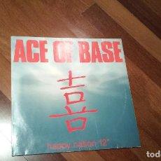 Discos de vinilo: ACE OF BASE-HAPPY NATION.MAXI. Lote 113427883