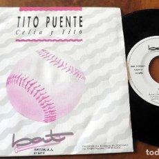 Discos de vinilo: SINGLE - BAT - TITO PUENTE -CELIA Y TITO. Lote 113430059