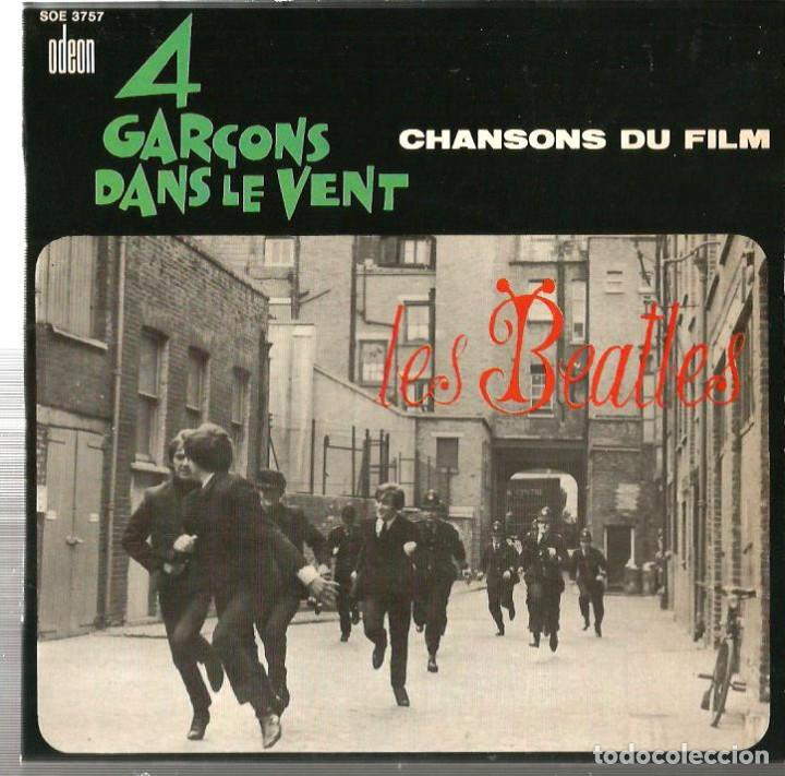 EP LES BEATLES : 4 GARÇONS DANS LE VENT ( CHANSONS DU FILM ) EXCELENTE SONIDO (Música - Discos de Vinilo - EPs - Pop - Rock Internacional de los 50 y 60)