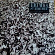 Discos de vinilo: GEORGE MICHAEL. LISTEN WITHOUT PREJUDICE. LP ESPAÑA CON FUNDA INTERIOR CON LETRAS.. Lote 113434347