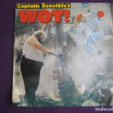 Dischi in vinile: CAPTAIN SENSIBLE'S SG AM 1982 WOT / STRAWBERRY DROSS PUNK POP - DAMNED . Lote 113440351