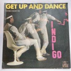 Discos de vinilo: INDIGO - GET UP AND DANCE . Lote 113441107