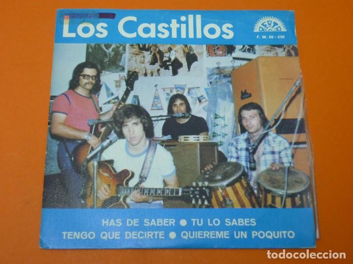 LOS CASTILLOS-HAS DE SABER+3- EP 45 VINILO- BERTA 1973- PROMO (Música - Discos de Vinilo - EPs - Grupos Españoles de los 70 y 80)