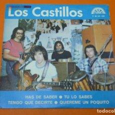 Discos de vinilo: LOS CASTILLOS-HAS DE SABER+3- EP 45 VINILO- BERTA 1973- PROMO. Lote 113443631