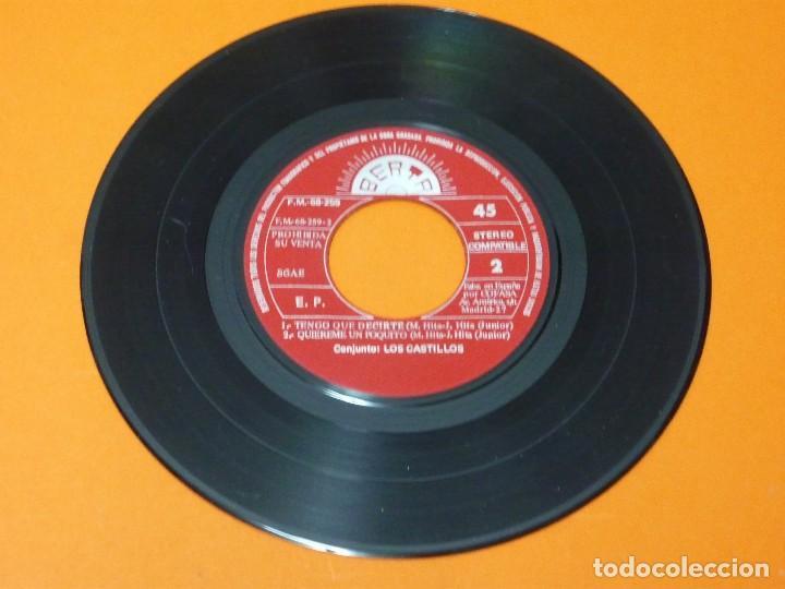 Discos de vinilo: LOS CASTILLOS-HAS DE SABER+3- EP 45 VINILO- BERTA 1973- PROMO - Foto 4 - 113443631