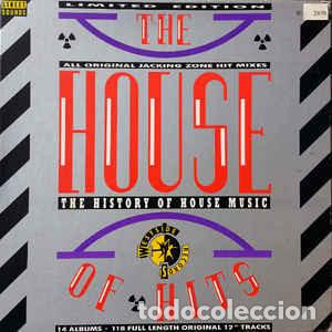 VARIOUS – THE HOUSE OF HITS - THE HISTORY OF HOUSE MUSIC (Música - Discos - LP Vinilo - Funk, Soul y Black Music)
