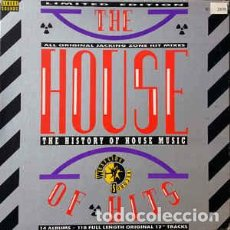 Discos de vinilo: VARIOUS – THE HOUSE OF HITS - THE HISTORY OF HOUSE MUSIC . Lote 113458631