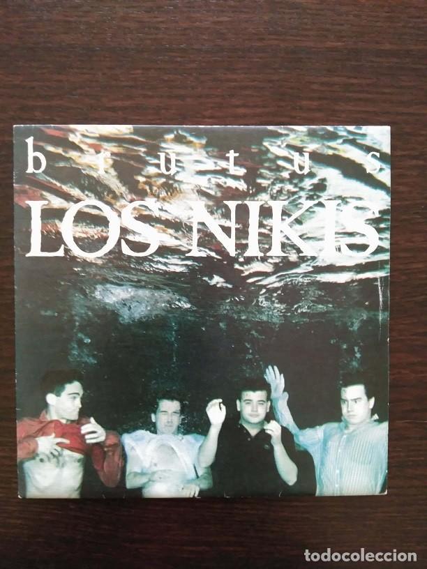 LOS NIKIS - BRUTUS / ALGETE ARDE / SINGLE PROMO - 3 CIPRESES ?– 1C-184 - 1987 - COMO NUEVO (Música - Discos - Singles Vinilo - Grupos Españoles de los 70 y 80)