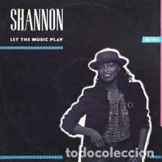 Discos de vinilo: SHANNON - LET THE MUSIC PLAY (REMIX) (MAXI SINGLE) . Lote 113470995