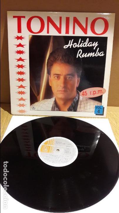 TONINO / HOLIDAY RUMBA / VOL 4 / MAXI SG / HORUS - 1991 / CALIDAD LUJO / ****/**** (Música - Discos de Vinilo - Maxi Singles - Flamenco, Canción española y Cuplé)