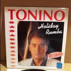 Discos de vinilo: TONINO / HOLIDAY RUMBA / VOL 4 / MAXI SG / HORUS - 1991 / CALIDAD LUJO / ****/****. Lote 113471119