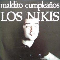 Discos de vinilo: LOS NIKIS ?– MALDITO CUMPLEAÑOS + 1 / SINGLE PROMO - 3 CIPRESES ?– 1C-186 - 1987 COMO NUEVO. Lote 113471207