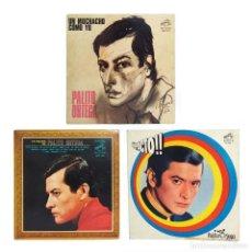Discos de vinilo: PALITO ORTEGA - LOTE DE 3 DISCOS: UN MUCHACHO COMO YO - IMPACTO - LO MEJOR DE PALITO ORTEGA. Lote 113489731