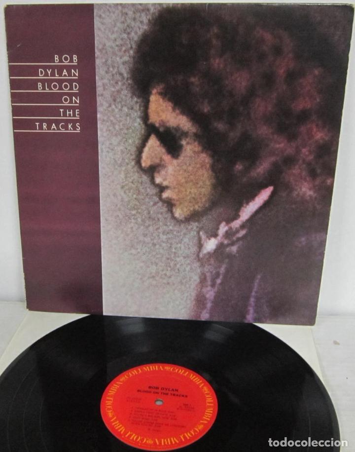 BOB DYLAN - BLOOD ON THE TRACKS - LP - COLUMBIA 1975 USA PC 33235 / AL 33235 (Musik - Vinyl-Schallplatten - EPs - Pop - Rock International der 70er Jahre)