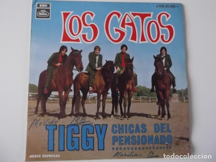 LOS GATOS (ANTIGUOS GATOS NEGROS) - TIGGY (Música - Discos de Vinilo - Maxi Singles - Grupos Españoles 50 y 60)