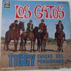 Discos de vinilo: LOS GATOS (ANTIGUOS GATOS NEGROS) - TIGGY. Lote 113496007