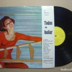 Discos de vinilo: TODOS A BAILAR - ORQUESTA MARAVELLA - LP ESPAÑOL 1961 - BEROFON. Lote 113497239
