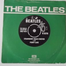 Discos de vinilo: THE BEATLES - STRAWBERRY FIELDS FOREVER / PENNY LANE. Lote 113498679