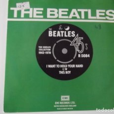 Discos de vinilo: THE BEATLES - I WANT TO HOLD YOUR HAND / THIS BOY. Lote 113500827