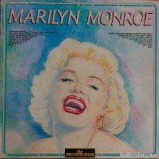 Discos de vinilo: MARILYN MONROE, THE ENTERTAINERS. LP ITALIA. Lote 113501555