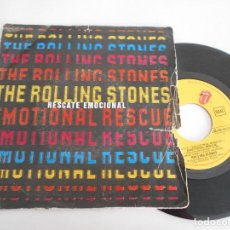 Discos de vinilo: THE ROLLING STONES-SINGLE RESCATE EMOCIONAL-PROMO. Lote 113501851