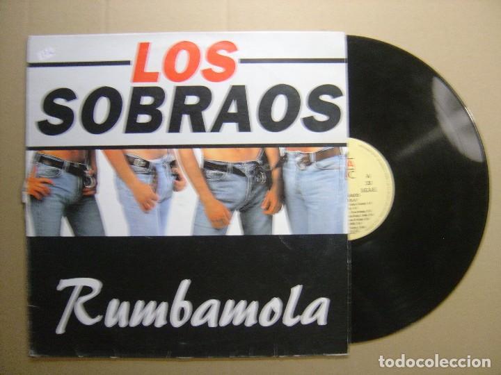 LOS SOBRAOS - RUMBAMOLA - LP 1995 - KONGA MUSIC (Música - Discos - LP Vinilo - Grupos Españoles de los 90 a la actualidad)