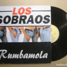 Discos de vinilo: LOS SOBRAOS - RUMBAMOLA - LP 1995 - KONGA MUSIC. Lote 113504991