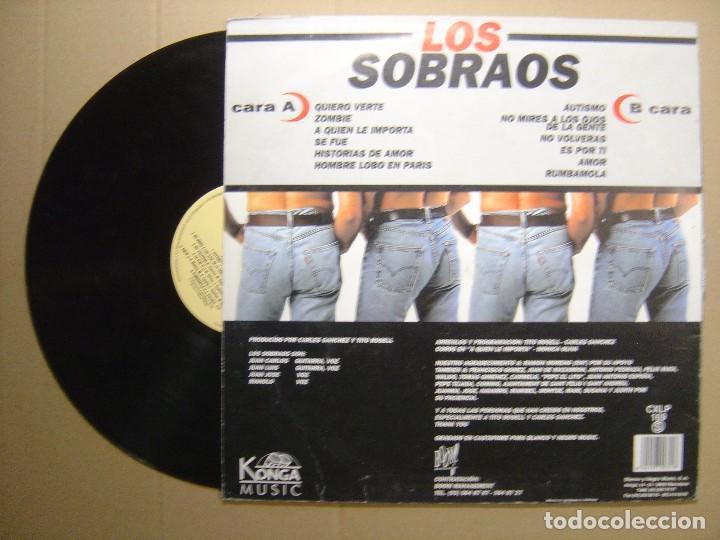 Discos de vinilo: LOS SOBRAOS - Rumbamola - LP 1995 - KONGA MUSIC - Foto 2 - 113504991