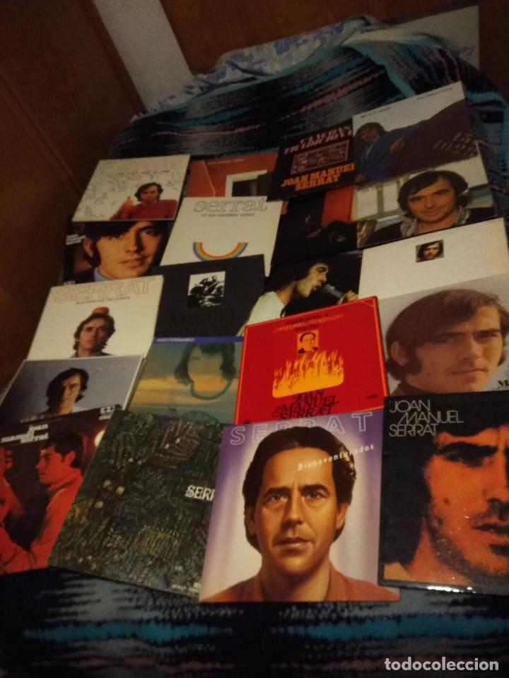 20 DISCOS LP DE JOAN MANUEL SERRAT ( NUEVOS O SEMINUEVOS ) (Música - Discos - LP Vinilo - Cantautores Españoles)