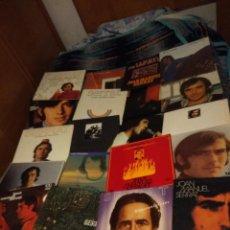 Discos de vinilo: 20 DISCOS LP DE JOAN MANUEL SERRAT ( NUEVOS O SEMINUEVOS ) . Lote 113505475