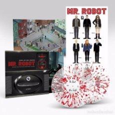 Discos de vinilo: MAC QUAYLE - MR. ROBOT VOLUME 3 VINILO DE COLOR 2LP BANDA SONORA ORIGINAL PRECINTADO. Lote 113509803