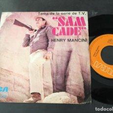 Discos de vinilo: HENRY MANCINI (SAN CADE / IRONSIDE) SINGLE ESPAÑA (EPI9). Lote 113529635