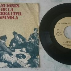 Discos de vinilo: CANCIONES DE LA GUERRA CIVIL: FALANGISTA SOY + 3 (DIAL 1978). Lote 113541403