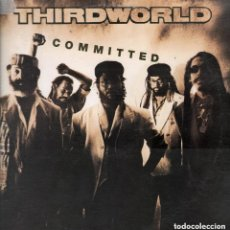 Discos de vinilo: THIRD WORLD - COMMITTED / LP MAXISINGLE DE 1992 RF-4631 POLYGRAM RECORDS. Lote 113560695