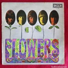 Discos de vinilo: THE ROLLING STONES FLOWERS LP DECCA LK 4888 ESPAÑA 1975. Lote 113568359
