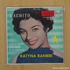Discos de vinilo: KATYNA RANIERI - CACHITO + 3 - EP. Lote 113575294